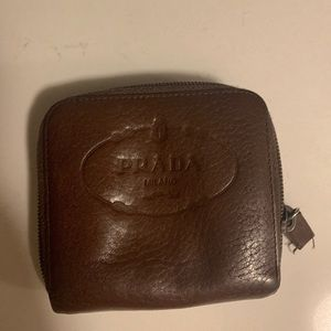 Mini vintage Prada wallet